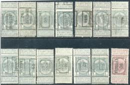 _5Ez-753: Restje 14 Zegels: Dubbel Tab's: Type WENDUINE .. Om Verder Uit Te Zoeken...oa Met N°1151: OSTENDE 5TATION 08 - Unclassified