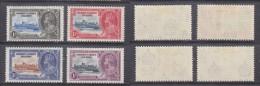 Gilbert + Ellis Island George V,  1935 Silver Jubilee, Set Of 4,   MH * - Gilbert & Ellice Islands (...-1979)