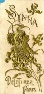 GAGO Proença & C.ª - 1906 Pocket Calendar - Lisboa Portugal - Parfum SYNHA DeLeTtrez Paris - 8 Scans - Petit Format : 1901-20