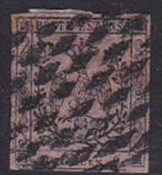Italian States Modena 1852 10c Pink - Modena
