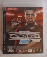 PS3 Japanese : Winning Eleven 2008  BLJM-60035 ( VT004-J1 ) - Sony PlayStation