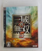 PS3 Japanese : Shin Sangoku Musou 5  BLJM-60041 - Sony PlayStation