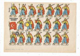 Planche Découpis, 1960 , FUSILEROS ARABES , Militaria, Militaires , Musique  , Frais Fr : 1.55€ - Découpis