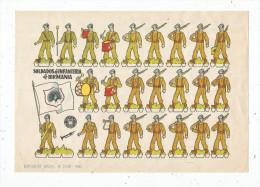 Planche Découpis, 1960 , SOLDADOS DE INFANTERIA DE BIRMANIA , Militaria, Militaires , Musique  , Frais Fr : 1.55€ - Découpis