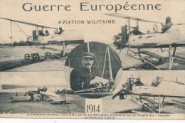 AVIATION - Guerre Européenne - Aviation Militaire 1914 - Le Lieutenant Césari Qui De Son Aéro Lança Des Bombes... - 1914-1918: 1. Weltkrieg