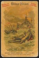 Chromo Chocolat Poulain - Guerre Russo-japonaise - Bataille Navale De Port-Arthur (militaria) - Poulain