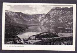Old Small Card Of Bohinjsko Jezero Z Rudnice,Julian Alps,Slovenia,J25. - Slovenia