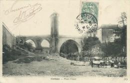 64)   ORTHEZ  -  Pont Vieux  (  Attelage  ) - Orthez
