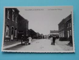 Le Centre Du Village ( Copie De CP / PK Copy ) Anno 19?? ( Zie Foto Details ) !! - Villers-le-Bouillet