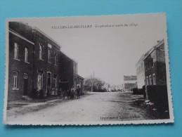 Coopérative Et Centre Du Village ( Copie De CP / PK Copy ) Anno 19?? ( Zie Foto Details ) !! - Villers-le-Bouillet