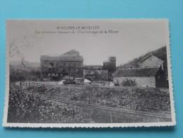 Les Nouveaux Travaux Du Charbonnage De La Meuse ( Copie De CP / PK Copy ) Anno 19?? ( Zie Foto Details ) !! - Villers-le-Bouillet