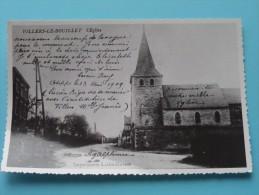 L´Eglise ( Copie De CP / PK Copy ) Anno 19?? ( Zie Foto Details ) !! - Villers-le-Bouillet