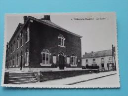 Les Ecoles ( Copie De CP / PK Copy ) Anno 19?? ( Zie Foto Details ) !! - Villers-le-Bouillet
