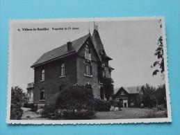 Propriété Du Dr. Jonet ( Copie De CP / PK Copy ) Anno 19?? ( Zie Foto Details ) !! - Villers-le-Bouillet