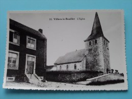 L'Eglise ( Copie De CP / PK Copy ) Anno 19?? ( Zie Foto Details ) !! - Villers-le-Bouillet