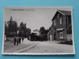 Arrêt Du TRAM ( Copie De CP / PK Copy ) Anno 19?? ( Zie Foto Details ) !! - Villers-le-Bouillet