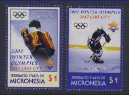 MICRONESIE  2002 JO SC N°486/87(anneaux Noirs)  NEUF MNH** - Micronésie