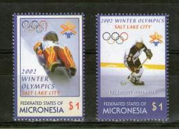 MICRONESIE  2002 JO SC N°486/87 ANNEAUX COULEURS  NEUF MNH** - Micronésie
