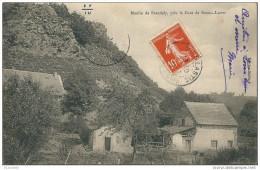 Moulin De BRANDELY ,prés La Gare De Bourg Lastic - Otros Municipios