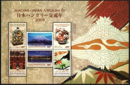 HUNGARY 2009 EVENTS 150 Years Of Diplomatic Relations With JAPAN - Fine S/S MNH - Ungebraucht