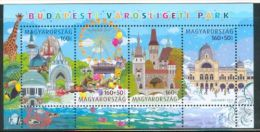 HUNGARY 2011 CULTURE The Budapest ENTERTAINMENT PARK - Fine S/S MNH - Ungebraucht
