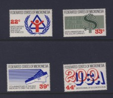MICRONESIE 1987 EVENEMENTS Sc N°56-C28/30  NEUF MNH** - Micronésie