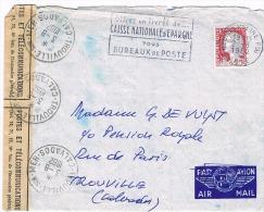 1263 DECARIS OUVERT PAR ERREUR NE CONCERNE PAS... BANDE PTT N° 509 2 8 1962 2 SCANS - 1960 Marianne (Decaris)