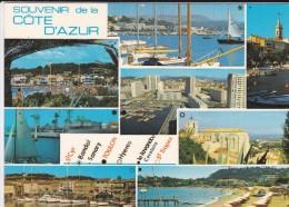 83---SOUVENIR DE LA COTE D'AZUR---Multivues---voir 2 Scans - France