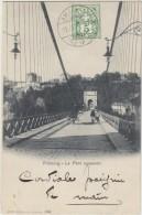 Allemagne Fribourg Lle Pont Suspendu - Freiburg I. Br.