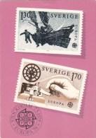 SWEDEN POSTOFFICE POSTCARD EUROPA 1979 - Autres