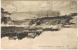 O.MEC KRAG PARIS XVI PLACE CHOPIN EN ARRIVEE D'UNE CPA DE ROYAN - Marcophilie (Lettres)