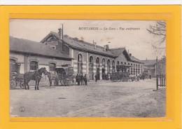 MONTARGIS - 45 - CHEMINS DE FER - GARES - ATTELAGES - La Gare Vue Extérierieure - Animation D´attelages - Montargis