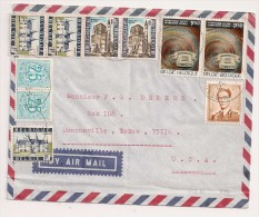 LETTRE BRIEF BEYNE-HEUSAY -> USA 1971 - Belgium