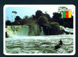 CAMEROON  -  Waterfall  Chutes Du Kribi  Unused Postcard - Cameroon
