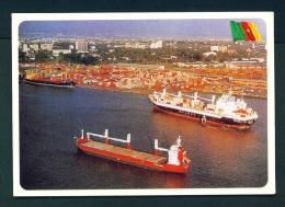 CAMEROON  -  Douala Port  Unused Postcard - Cameroon