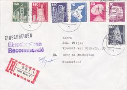 Berlin Enschreiben Brief - Berlin (West)