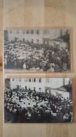 IVRY LA BATAILLE 2 CARTES DONT UNE CARTE PHOTO GYMNASTIQUE ORCHESTRE MUSIQUE / FREE SHIPPING REGISTERED - Ivry-la-Bataille