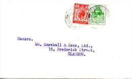 GRANDE-BRETAGNE. N°179-80 De 1929 Sur Enveloppe Ayant Circulé. UPU. - U.P.U.