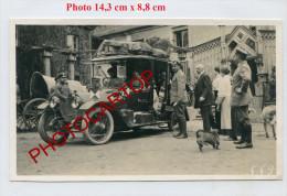 AUTOMOBILE Militaire-PHOTO Allemande-Guerre-14-18-1 WK-Militaria- - Oorlog 1914-18