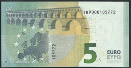 € 5 ITALY  SB S001 I5  DRAGHI  UNC - EURO