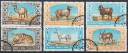 Jordanien 1967 MiNr. 669/ 674  O / Used  Tiere - Zonder Classificatie