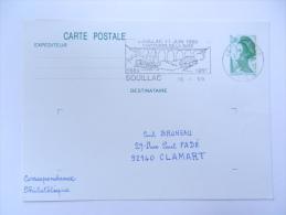 GARE SOUILLAC 1989 - Chemins De Fer
