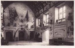 RP Postcard Great Hall Cotehele House Saltash Cornwall National Trust Real Photo - England