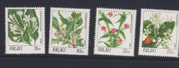PALAU 1988 FLEURS  YVERT N°216/19  NEUF MNH** - Végétaux