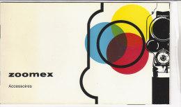 B1524 - LIBRETTO CINEPRESA CARENA ZOOMEX 8 Mm - ACCESSORI - Film Projectors