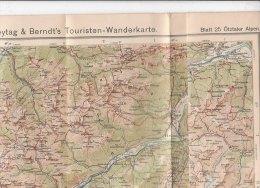 B1540 - CARTINA - MAP G.Freytag & Berndt - BLATT 25 OTZALER ALPEN - Carte Topografiche