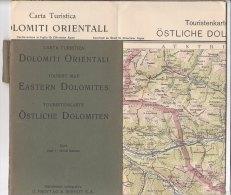 B1542 - CARTINA - MAP G.Freytag & Berndt - DOLOMITI ORIENTALI - Carte Topografiche