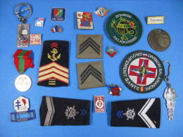 Fond De Tiroir,  Insignes, Souvenirs Militaires...divers Trucs, Réf 20/02/16 B - Army & War