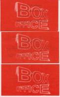Lot 3 Tickets Spectacles Et Concerts Zenith De Pau Zazie, Noah, Arrête De Pleurer Pénélope 2007 - Eintrittskarten