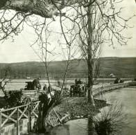 France WWI Troupes En Convoi Pont Temporaire Riviere Ancienne Photo SIP 1914-1918 - War, Military